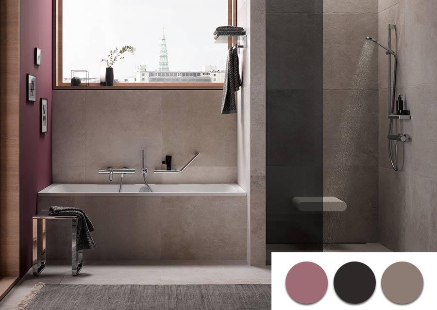 Farben Im Bad Wandgestaltung Badezimmer Von Fliese Bis Farbe My